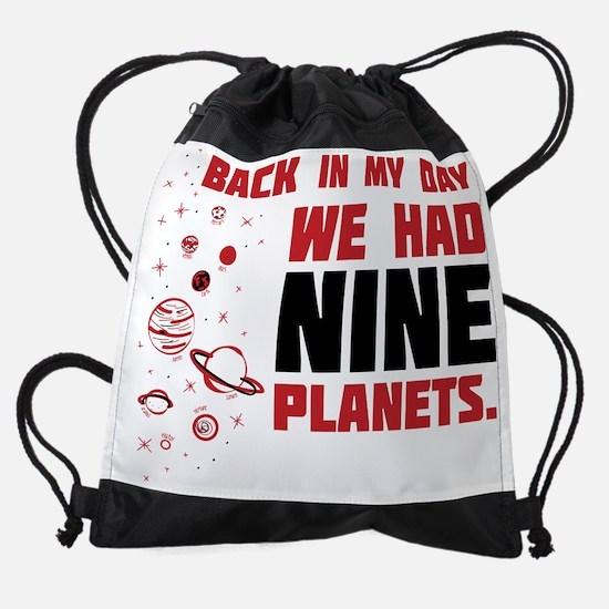 9 Planets Drawstring Bag