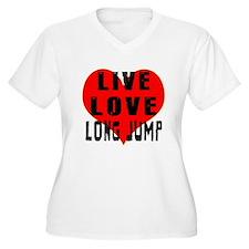 Live Love Long Jump T-Shirt