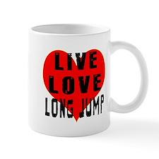 Live Love Long Jump Mug