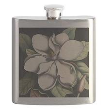 Vintage Magnolia Flask