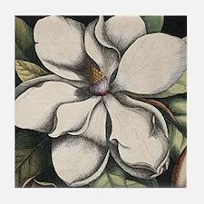 Vintage Magnolia Tile Coaster