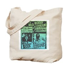 Satans Sadists Retro Slasher Tote Bag