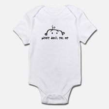 please don't eat me Infant Bodysuit