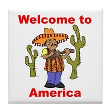 Welcome to America Tile Coaster