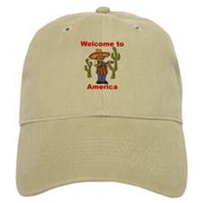 Welcome to America Baseball Cap