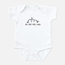 i'm the evil twin Infant Bodysuit