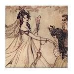 Rackham's Ashenputtel Tile Coaster