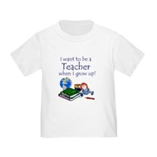 Want2B a Teacher - Toddler Tee