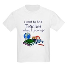 I Want to Be a Teacher-Kids Tee