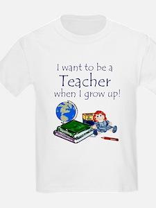 I Want to Be a Teacher-Kids Tee