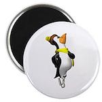 Ice Skating Penguin Magnet