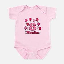 8 Months - Pink Zebra Body Suit