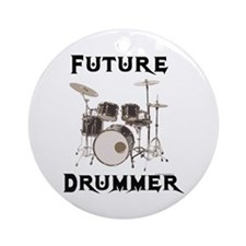 Future Drummer Ornament (Round)
