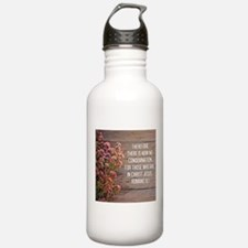 Romans 8:1 Water Bottle