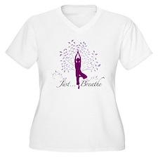 JustBreathe Plus Size T-Shirt