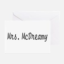 Mrs. McDreamy Greeting Cards (Pk of 10)