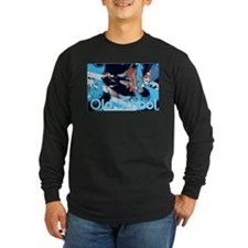 Old School Scratch Long Sleeve T-Shirt