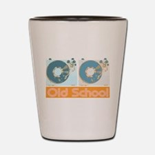 Old Shcool Turntables Shot Glass