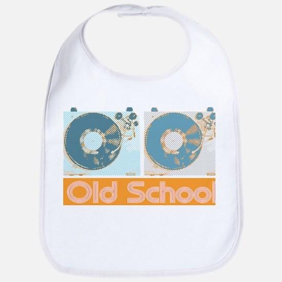 Old Shcool Turntables Bib