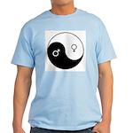 """Yin Yang / Male Female"" Light T-Shirt"