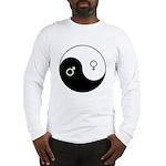 """""""Yin Yang / Male Female"""" Long Sleeve T-Shirt"""