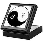 """Yin Yang / Male Female"" Keepsake Box"