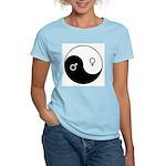"""""""Yin Yang / Male Female"""" Women's Light T-Shirt"""