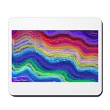 Rainbow Curly Manes Mousepad