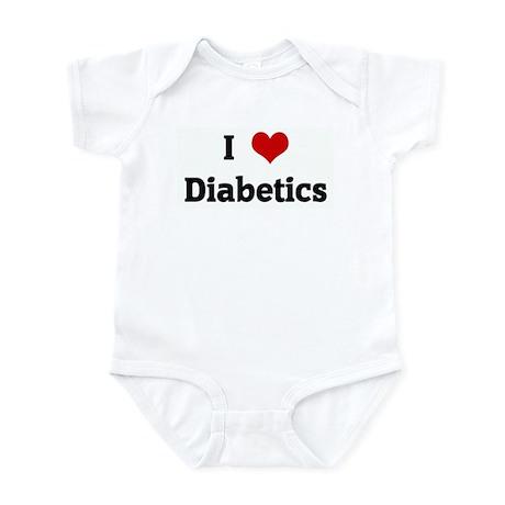 I Love Diabetics Infant Bodysuit