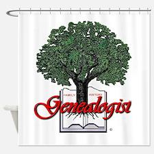 Genealogist Shower Curtain