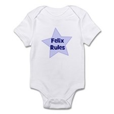 Felix Rules Infant Bodysuit