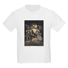 Rackham's Hut in the Forest Kids T-Shirt