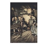 Rackham's Hut in the Forest Postcards (Package of