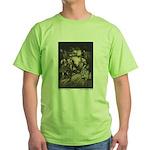 Rackham's Hut in the Forest Green T-Shirt