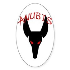 Anubis Oval Decal