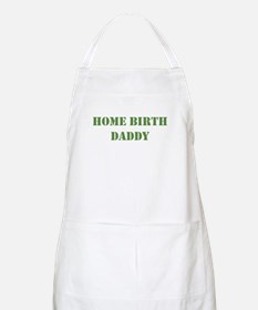 Home Birth Daddy Khaki BBQ Apron