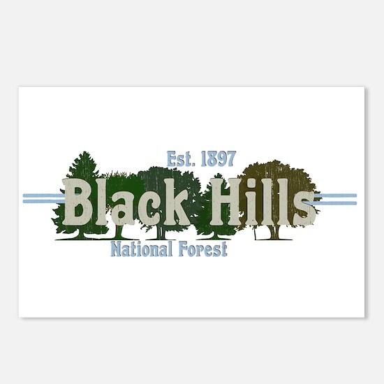 Vintage Black Hills Natio Postcards (Package of 8)