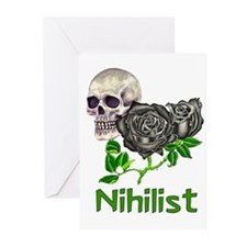 Nihilist Skull Greeting Cards (Pk of 10)
