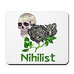 Nihilist Skull Mousepad