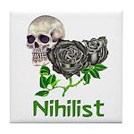 Nihilist Skull Tile Coaster