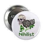 Nihilist Skull Button
