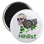 Nihilist Skull Magnet