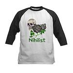 Nihilist Skull Kids Baseball Jersey