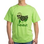Nihilist Skull Green T-Shirt