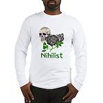 Nihilist Skull Long Sleeve T-Shirt