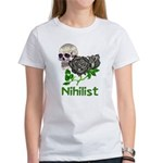 Nihilist Skull Women's T-Shirt