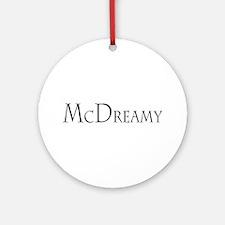 McDreamy Ornament (Round)
