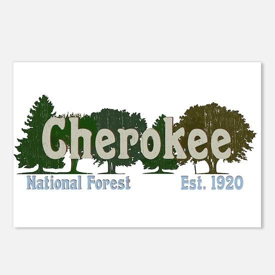 Print Press Cherokee Nati Postcards (Package of 8)
