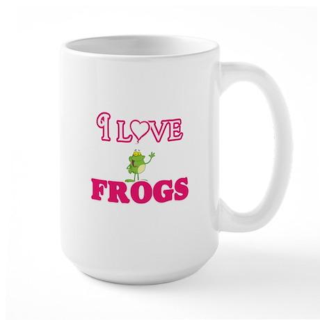 I Love Frogs Mugs