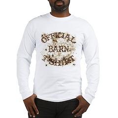 Official Barn T-Shirt, Long Sleeve T-Shirt